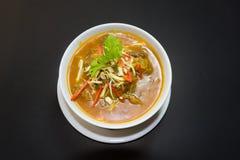 Kaeng повиснуло Moo Ley или еду карри свинины северную тайскую стоковая фотография