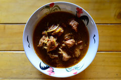 Kaeng Hung Ley Moo (Pork Curry) Royalty Free Stock Photography