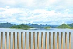 Kaeng Krachan水坝 库存照片