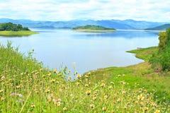 Kaeng Krachan水坝 免版税图库摄影