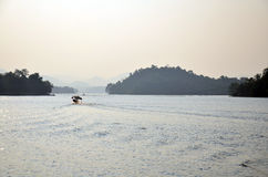 Kaeng Krachan Dam in Kaeng Krachan National Park at Phetchaburi Thailand Stock Photography