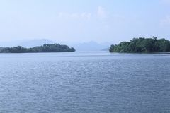 Kaeng Krachan Dam, Phetchaburi province, Thailand Royalty Free Stock Images