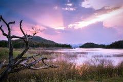 Kaeng Krachan dam, Thailand Royalty Free Stock Image