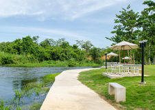 The Kaeng Krachan District Resort in Phetchaburi Thailand. Royalty Free Stock Photography