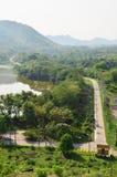 Kaeng Krachan fördämning, Phetchaburi landskap, Thailand Royaltyfria Bilder
