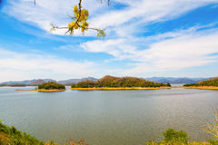 Kaeng Krachan lake view Stock Image