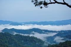 kaeng krachan mgły ranek obraz royalty free