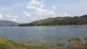 Kaeng krachan nationalparkfördämning Royaltyfri Bild
