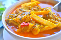 Kaeng somname of Thai food is hot and sour Stock Photography
