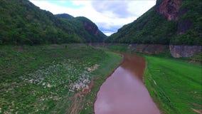 Kaengkoh in Mae Ping National Park at Lamphun province , Thailand stock video