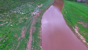 Kaengkoh in Mae Ping National Park at Lamphun province , Thailand stock video footage