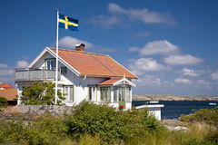 Kaeringoen in Sweden Royalty Free Stock Photography