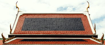Kaew Бангкок Таиланд phra Wat павильона крыши Стоковое Изображение RF