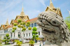 Kaew de pra de Wat, palais grand, Bangkok, Thaïlande Images libres de droits
