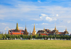 Kaew di phra di Wat, grande palazzo, Bangkok, Tailandia Immagine Stock Libera da Diritti