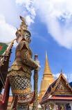 Kaew do pra de Wat, lugar grande real Fotos de Stock