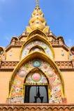 Kaew för Wat phasorn, tempel i Thailand Arkivfoton