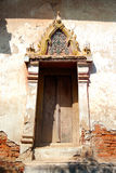 Kaew Fah Bang Krouy temple's window Royalty Free Stock Photos