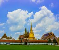 Kaew magnífico del phra del palacio y del templo foto de archivo libre de regalías