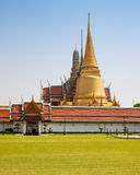 Kaew pra Wat, грандиозный дворец, Бангкок, Таиланд Стоковое фото RF