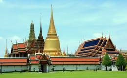 Kaew Thailand för Bangkok watpra Royaltyfri Foto