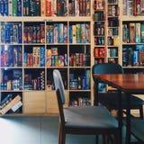 Kafé för brädelekar Fotografering för Bildbyråer