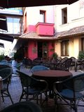 Kafé i Tbilisi Royaltyfri Foto