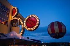 Kafé Mickey på Disneyland Paris royaltyfria foton