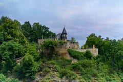 Kafé på vaggaTysklandnationalparken Royaltyfri Bild