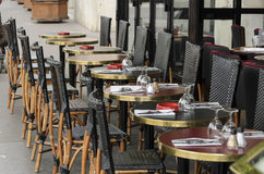 Kafé Paris Royaltyfria Foton