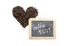 Kaféförälskelse Royaltyfri Fotografi