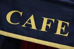 Kafé i paris Arkivbilder