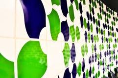 kafelkowa ściany zdjęcia stock