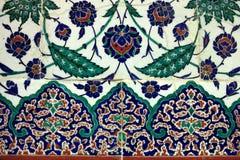Kafelkowa język arabski ściana obraz royalty free