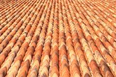 Kafelkowy dach Obrazy Royalty Free
