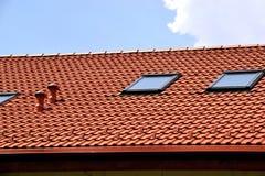 Kafelkowy dach Zdjęcie Royalty Free
