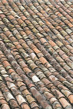 Kafelkowy dach Zdjęcie Stock