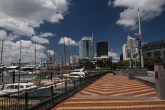 Kafelkowy przejście przy Auckland wiaduktu schronieniem Obrazy Stock