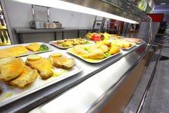kafeteria arkivfoto