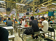 Kafeteria på universitetsområde Royaltyfri Foto