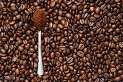 Kaffe är den bästa starten till dagen arkivfoto
