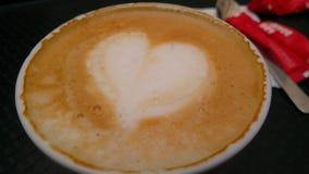Kaffe är min hjärta royaltyfria foton
