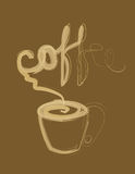 kaffe Stock Illustrationer