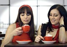 kaffe 6 tillsammans royaltyfri fotografi