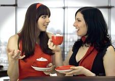 kaffe 7 tillsammans Royaltyfria Foton