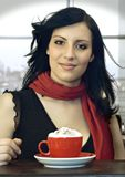 kaffe 9 tillsammans arkivbilder