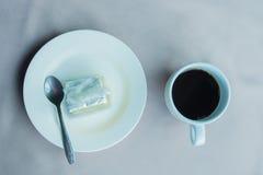 Kaffe bakar arkivbild
