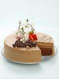 KAFFE & CHOCO-KAKA Royaltyfria Bilder