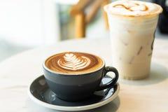 Kaffe energi som arbetar i morgonen Ha ett avbrotts-, mat- och dryckbegrepp arkivbilder