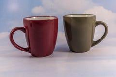 Kaffe för 2 Royaltyfria Foton